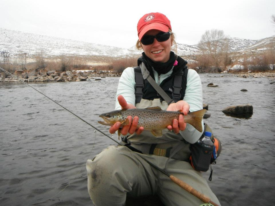 Provo River Fishing Guide Valerie