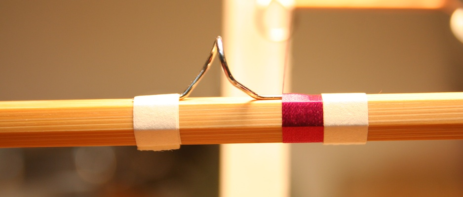 Bamboo fly rod in progress